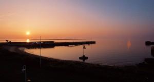 So einem Sonnenuntergang auf Helgoland können vielleicht auch Massive Attack nicht wiederstehen...
